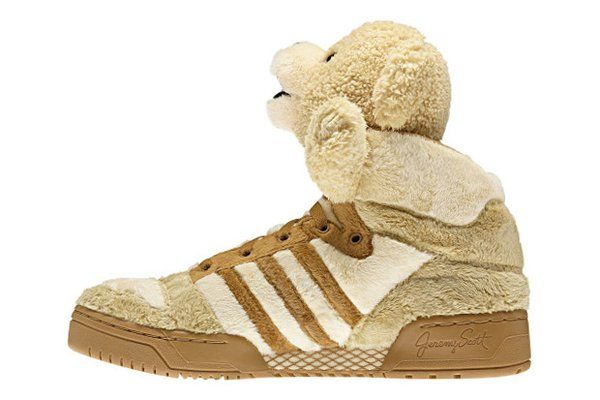 on sale 83c9a ff047 Fancy - Jeremy Scott x adidas Originals by Originals JS Bear Brown    Hypebeast