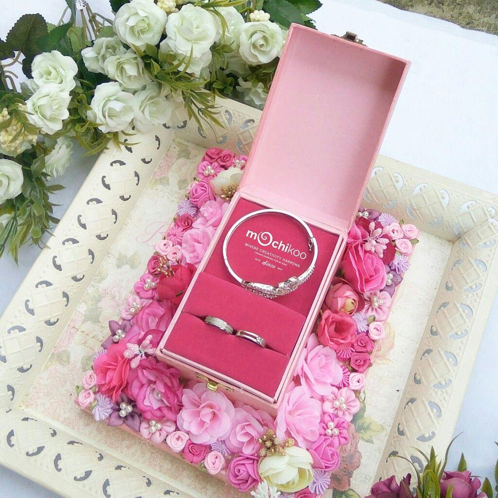 Pin by Qori Mochikoo on Mochikoo Wedding Ring Box Standart Frame ...
