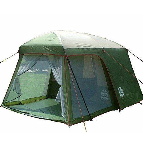 Introducing Double Layer Garden Tent 34 Person Large Family Camping Tent Outdoor Leisure 4 Seasons Tourist Waterproof Ten Family Tent Camping Tent Outdoor Tent