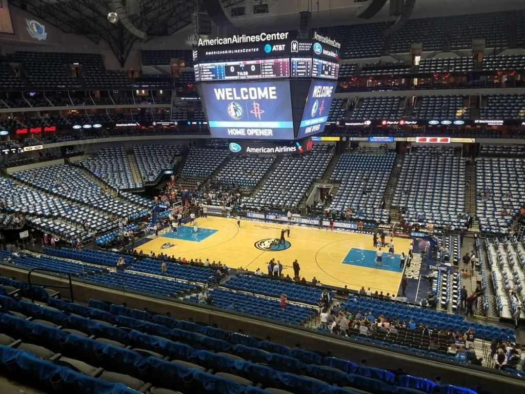 Mavericks Seating Chart American Airlines Center Seating Charts Buy Tickets