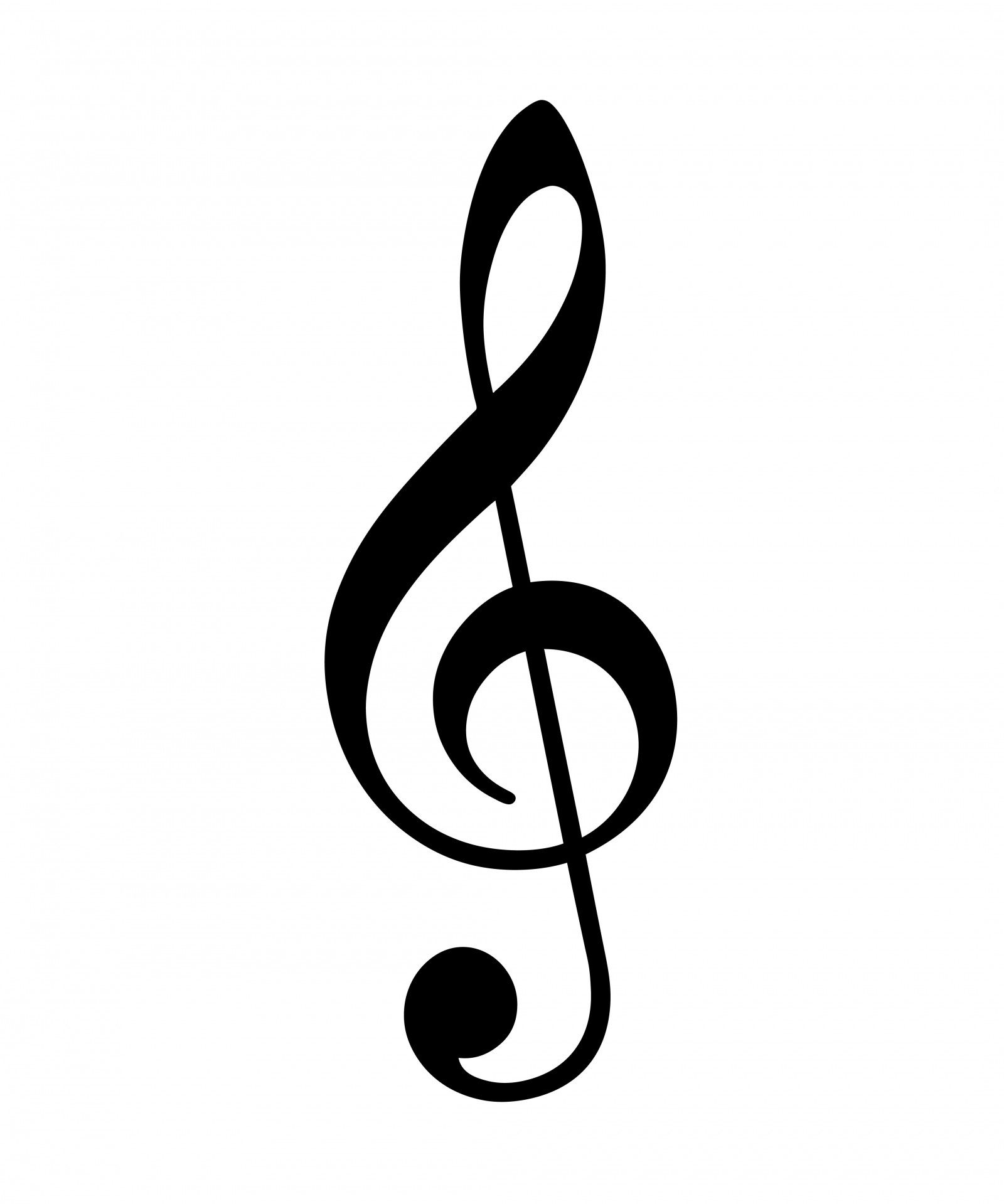 Music notes treble clef. Clipart backgrounds sheet