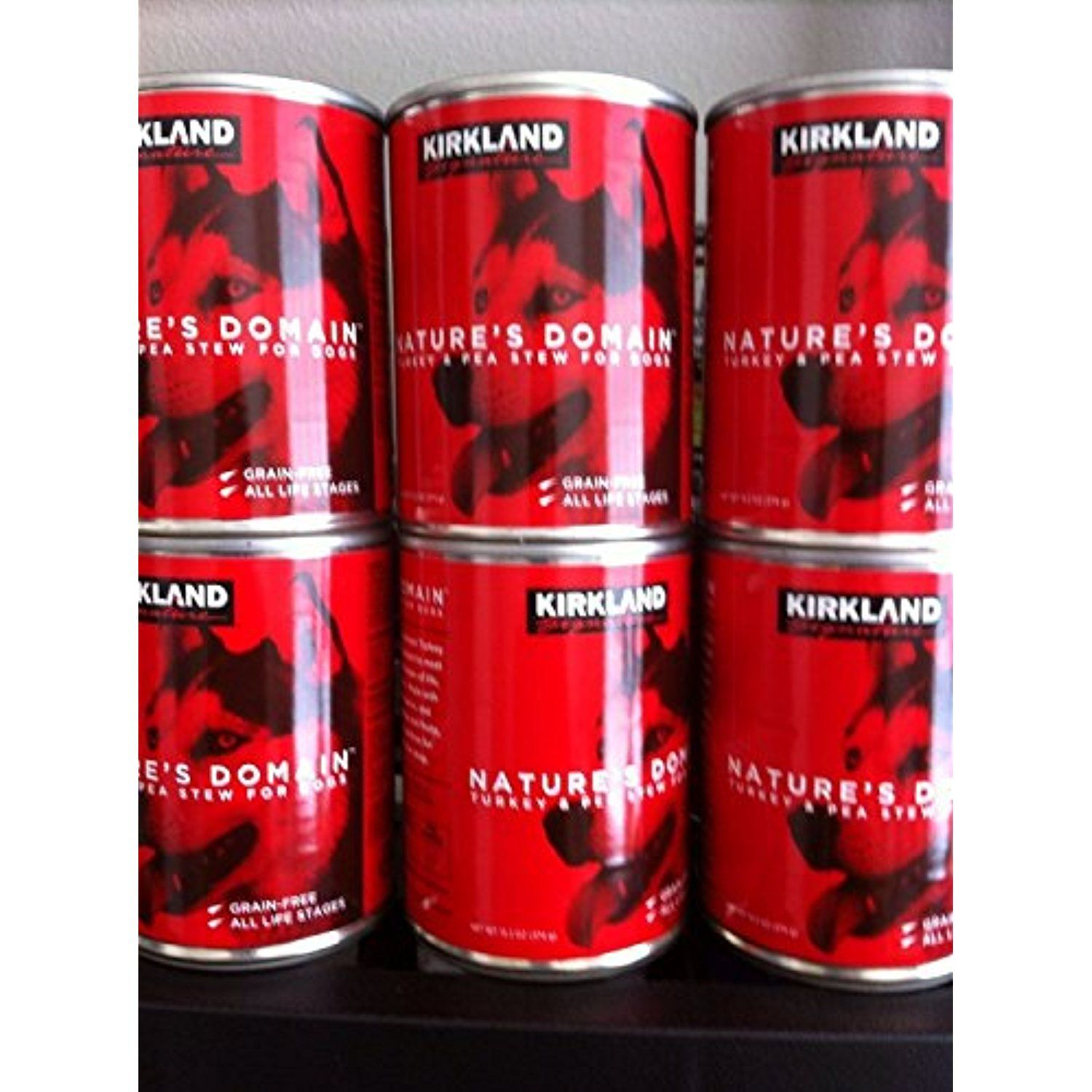 24 (13.2 Oz Each) Cans Nature's Domain Kirkland Turkey and