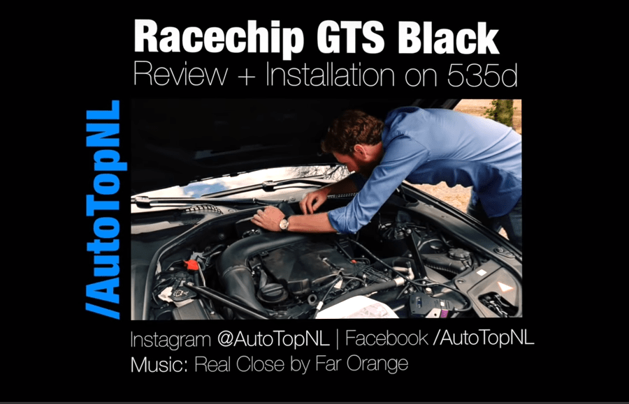 BMW 535d RaceChip GTS Black REVIEW & INSTALLATION in 2019