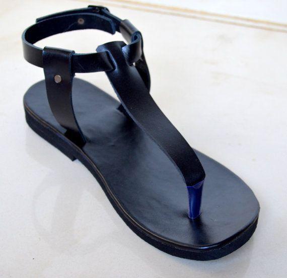 989c54c46 DAMASCUS T Strap Sandals