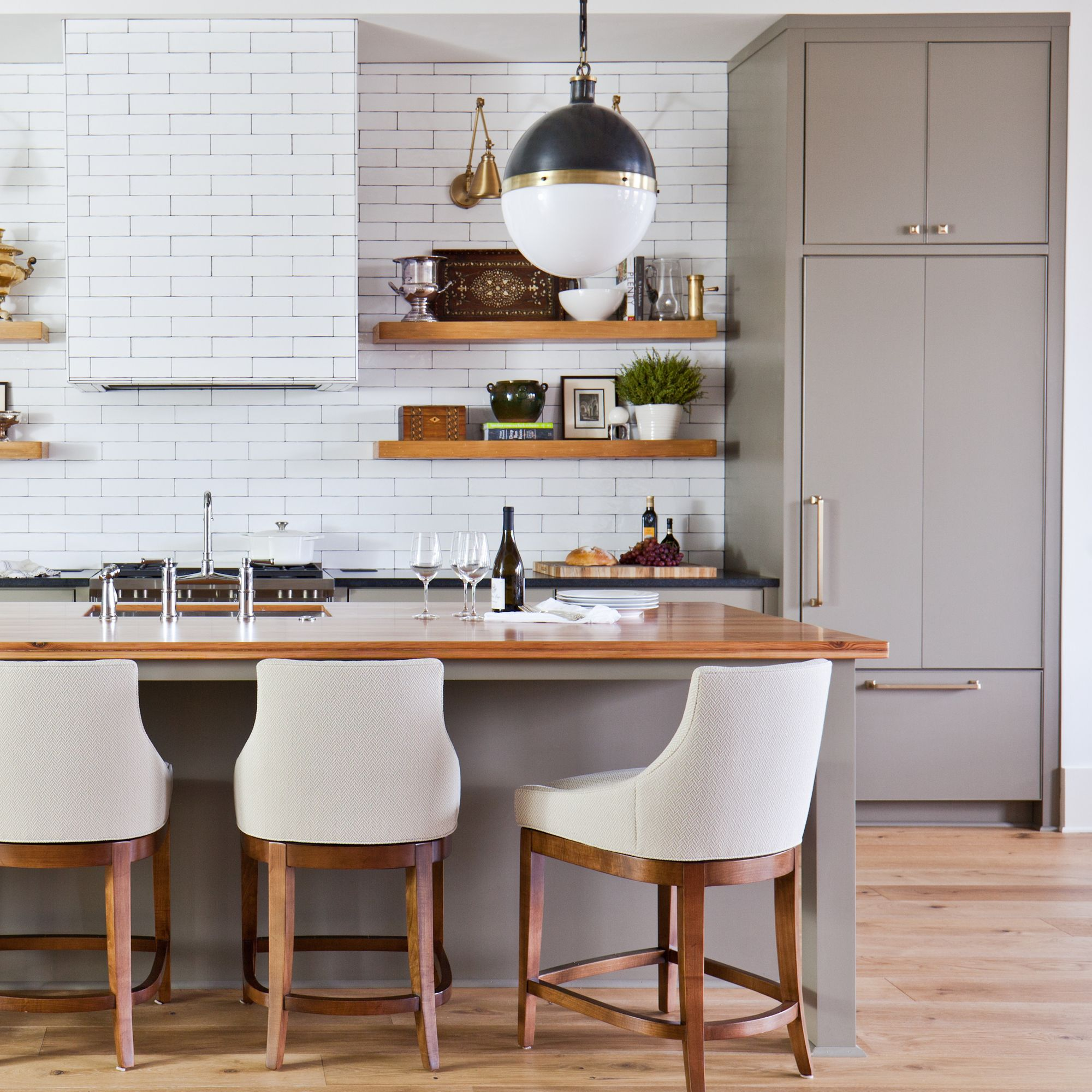 Modern loft design in downtown Macon, GA | Kitchen design ...