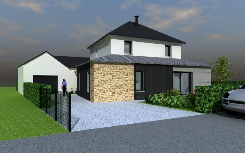 Populaire MAISON DESIGN ENTREE VUE TOIT 4 PANS | Architecture | Pinterest  PB31