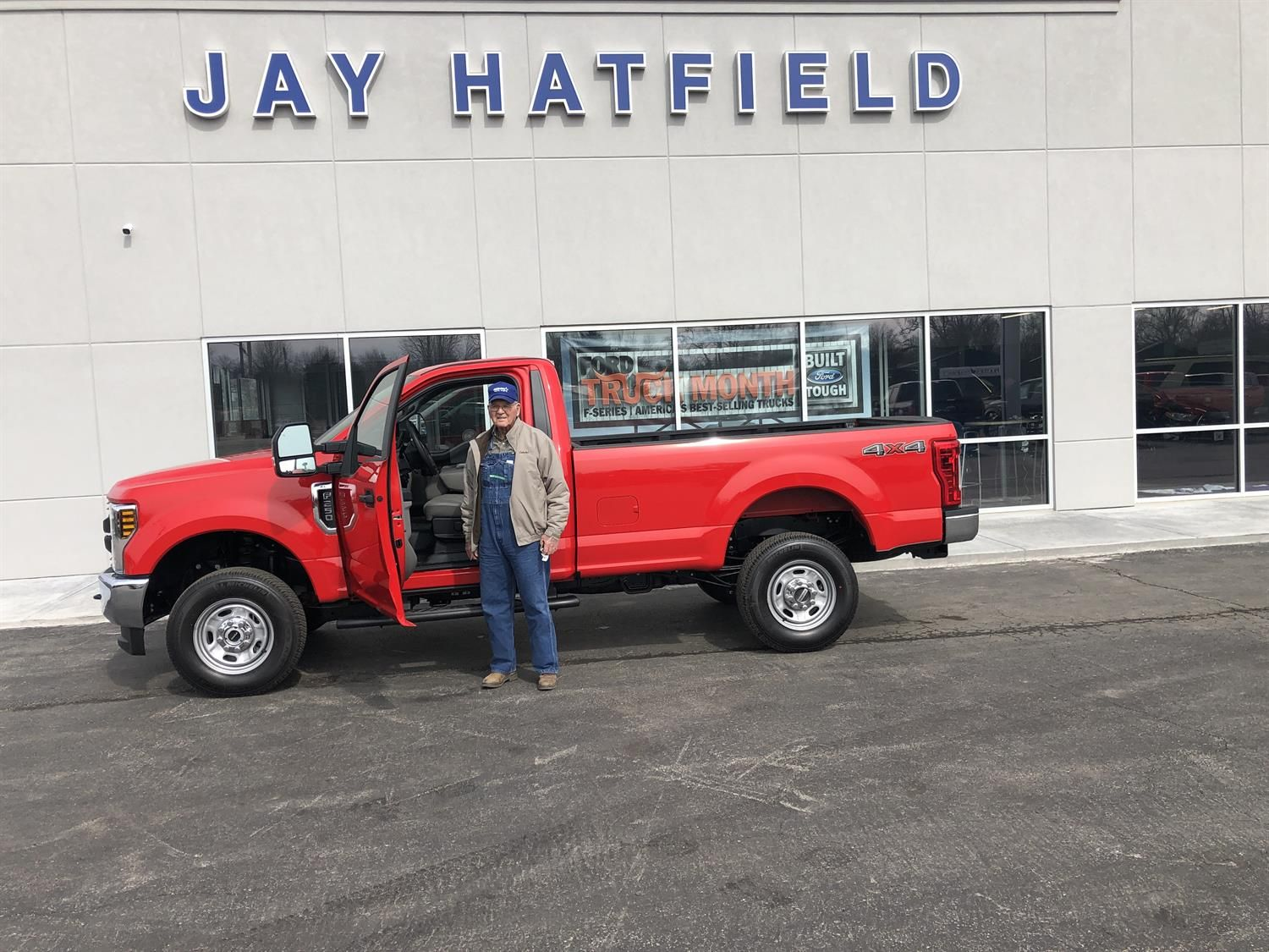 Jay Hatfield Ford >> Thank You Lloyd For The Opportunity To Help You With Your