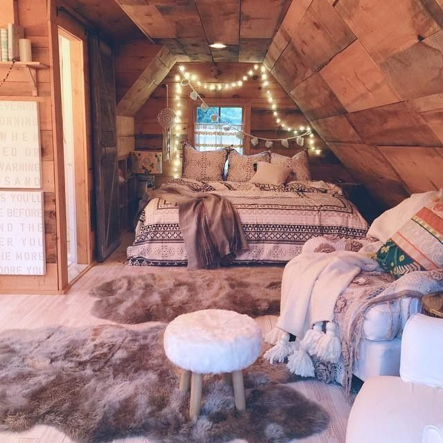 Boho Style Attic Bedrooms Cozy Bedroom Bedroom Decor