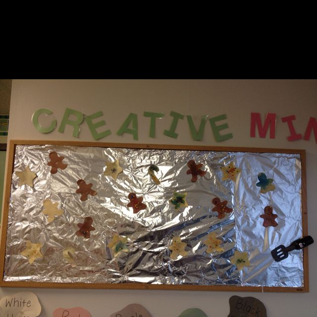 Bulletin Board Ideas Early Childhood: Cookie Sheet Bulletin Board! The Kids Made Cookies Out Of