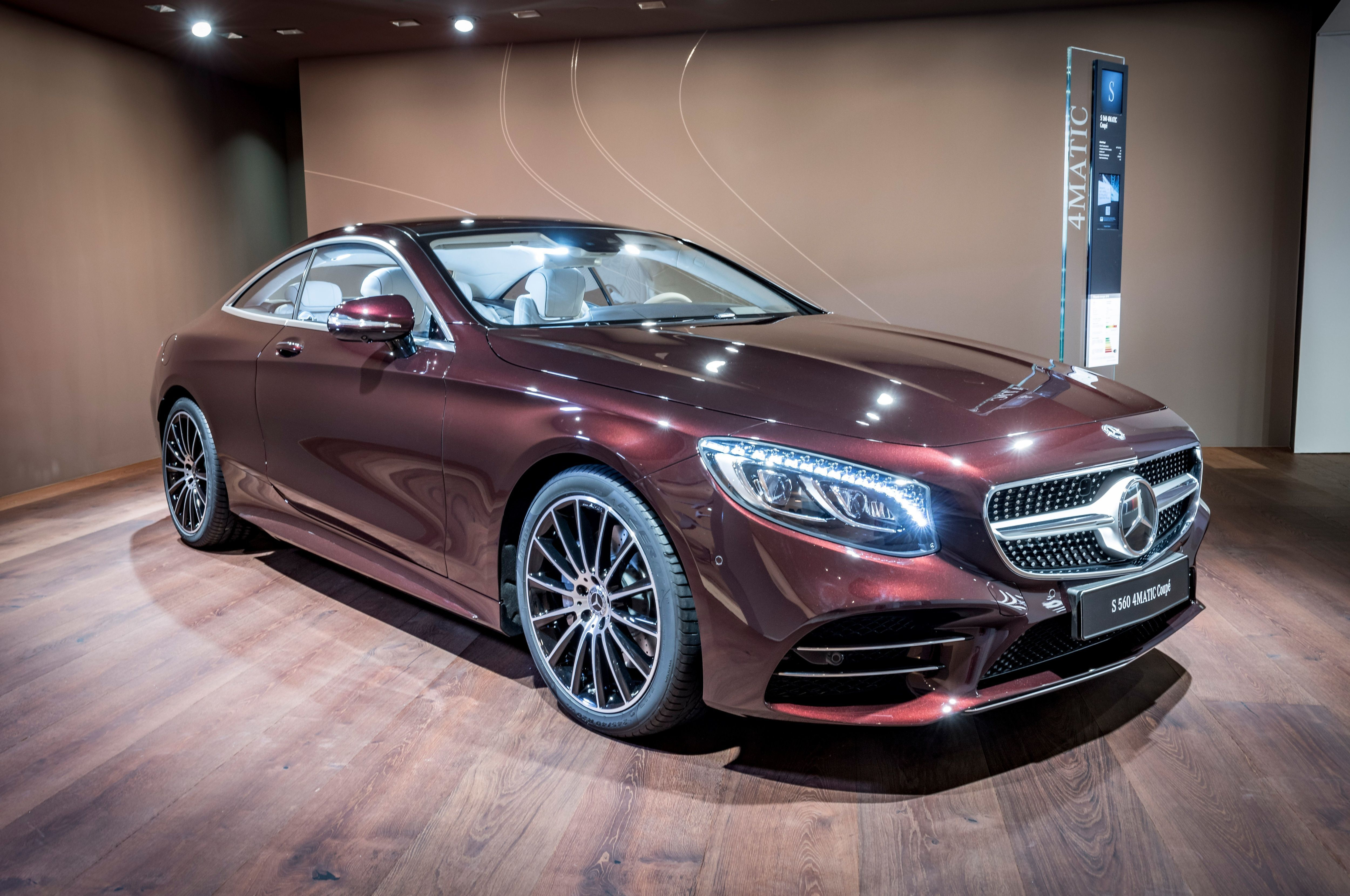 Swarovski On With Images Mercedes S Class Coupe Mercedes S550