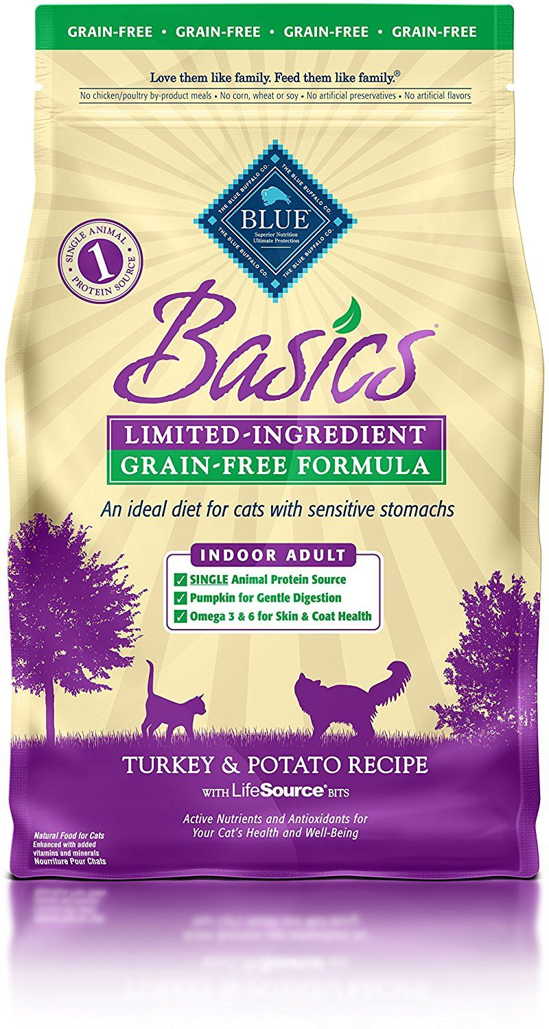 Blue Buffalo Basics Limited Ingredient Dry Cat Food Startling