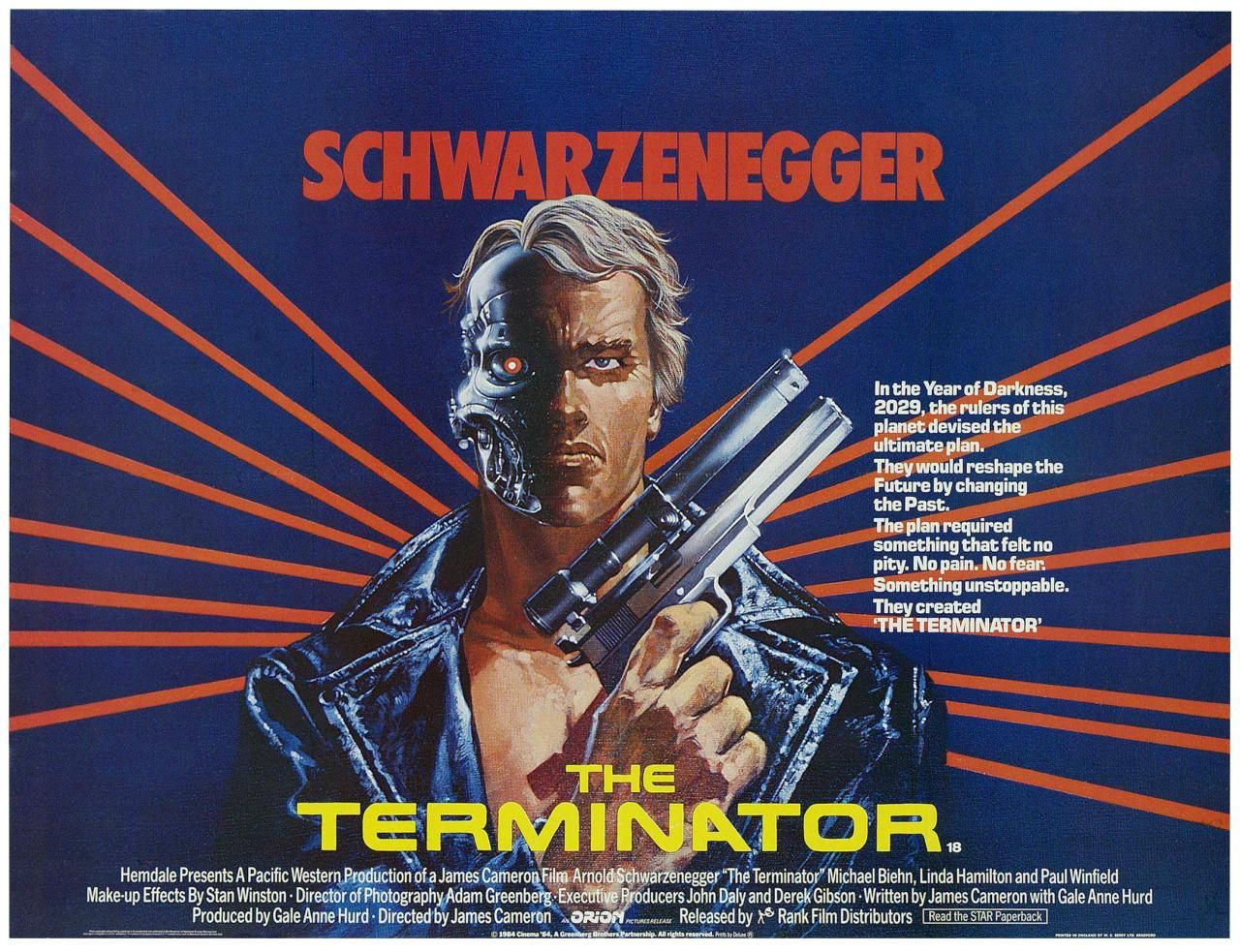 The Terminator 1984 Hd Wallpaper From Gallsourcecom