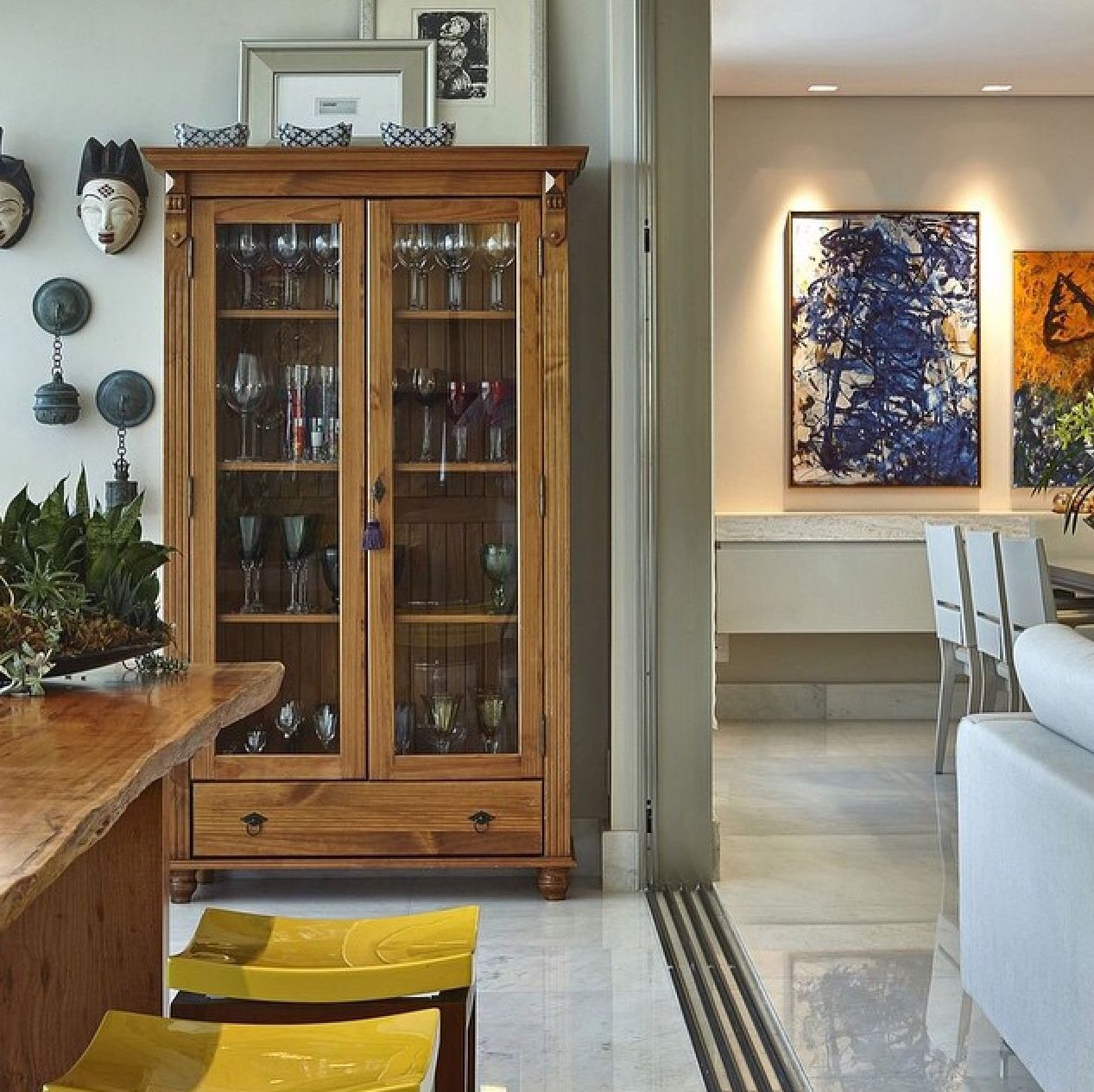 Vitrina vajillera cocina cocinas en 2019 pinterest for Decorar vitrina de comedor