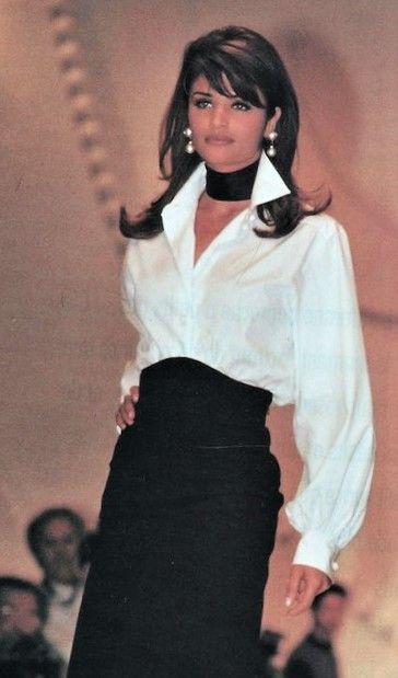 Helena Christensen Christian Dior Runway Show F/W 1992/1993
