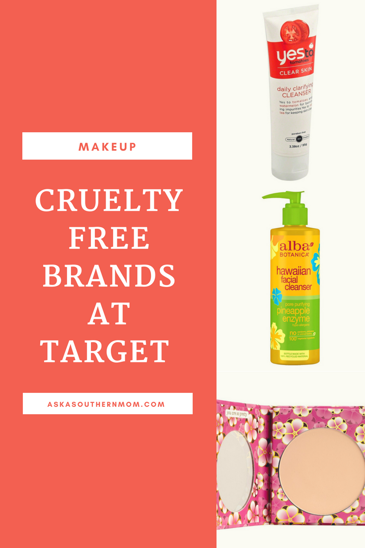 List of Cruelty free brands at Target. Also affordable! in