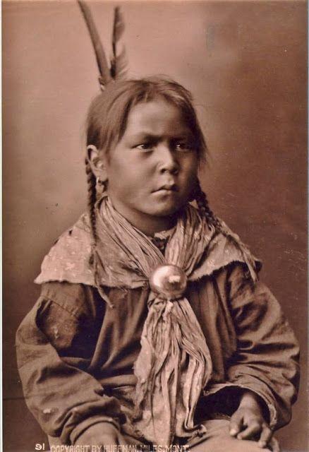 vintage everyday: Native American Kids – 31 Rare Cheyenne boy, 1878 Vintage…