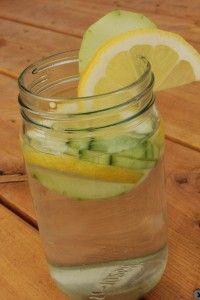 Lemon Cucumber Spa Water