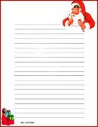 Free Lined Writing Paper Time To Start The Christmas To Do List Free Printable Christmas .