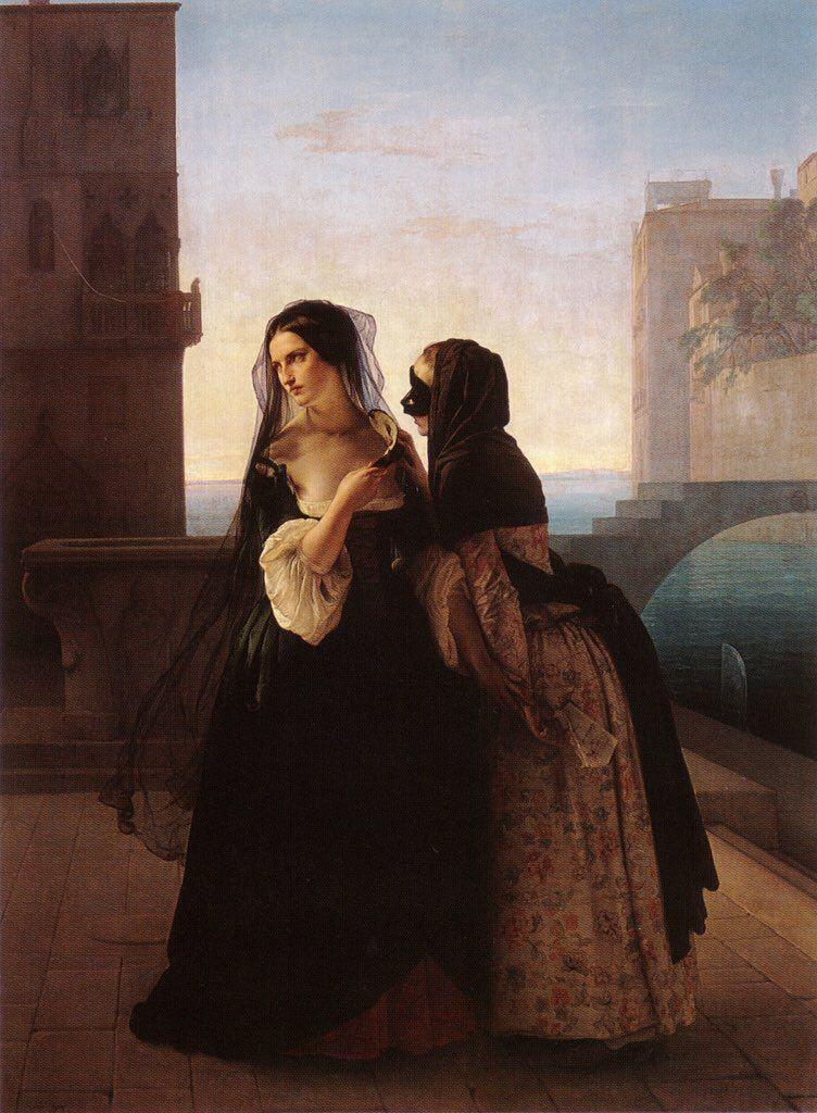 Francesco Hayez (1791-1882, Italy) | Induce Revenge