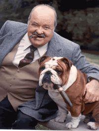 William Conrad As Frank Cannon Jake And The Fatman Bulldogge