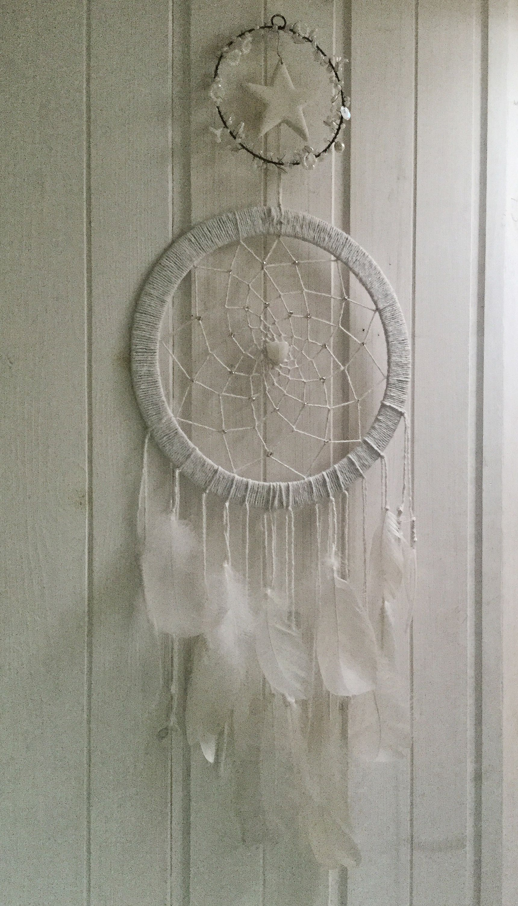 Dream Catcher Campers Dream catcher I made for my van White Pinterest Custom 25