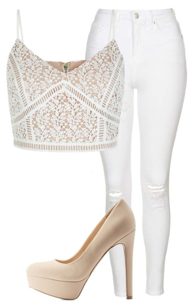 """""""Untitled #128"""" by jayla-gore ❤ liked on Polyvore featuring Topshop, New Look and Qupid"""