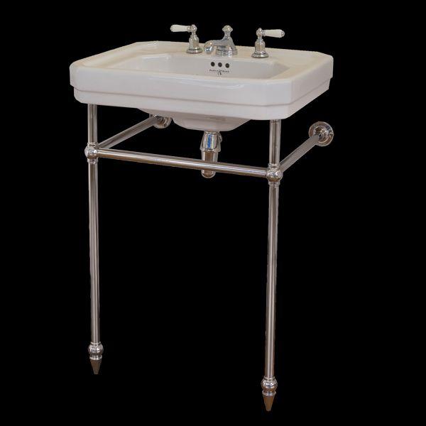 Hawthorn Hill Square Front Basin Stand For Perrin U0026 Rowe Art Deco 630mm  Handbasin