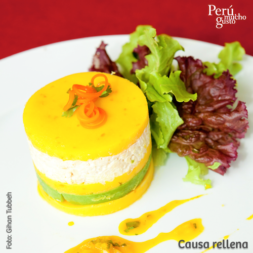 Receta Causa Rellena De Pollo Recetas Peruanas Comida Peruana Recetas De Comida
