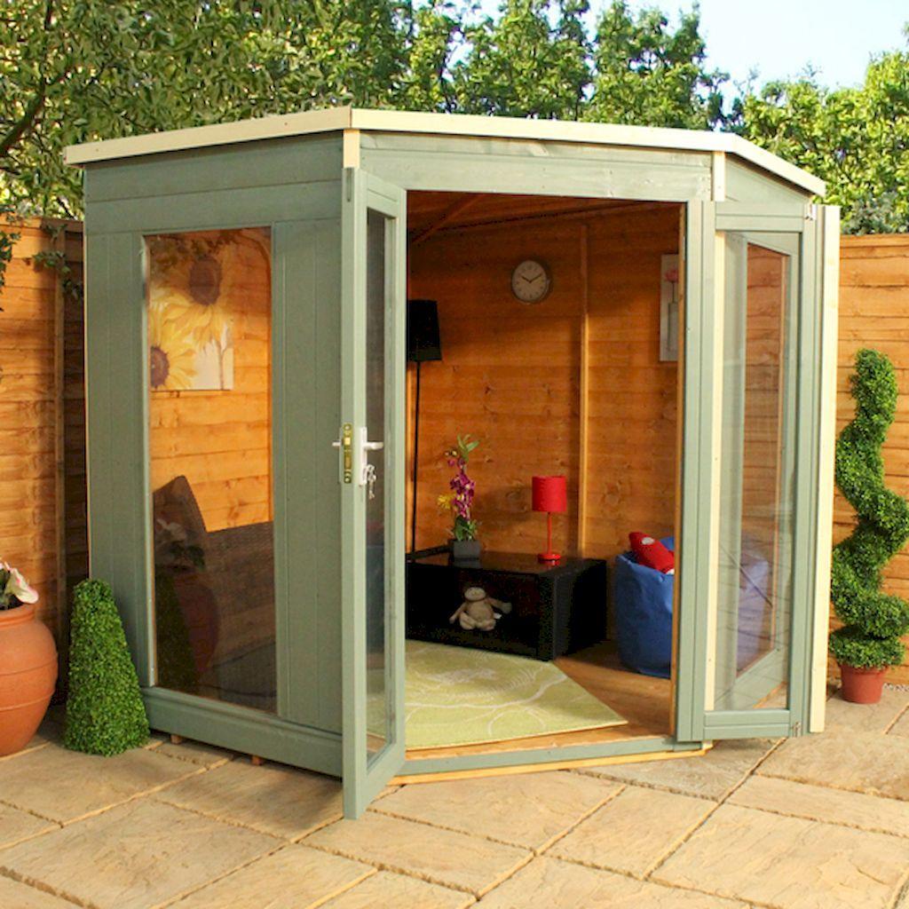 55 Cool Hallway Decor Ideas: 55 Cool DIY Backyard Studio Shed Remodel Design & Decor
