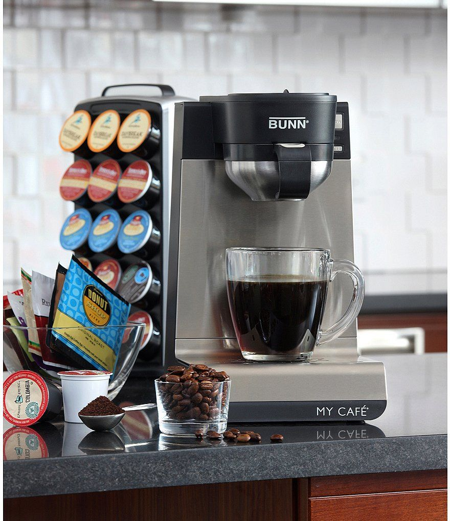 Bunn Coffee Single Cup MultiUse Home Coffee Brewer