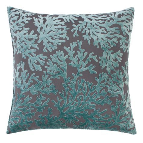 Corales Pillow 24 From Z Gallerie Turquoise And Gray Also Have