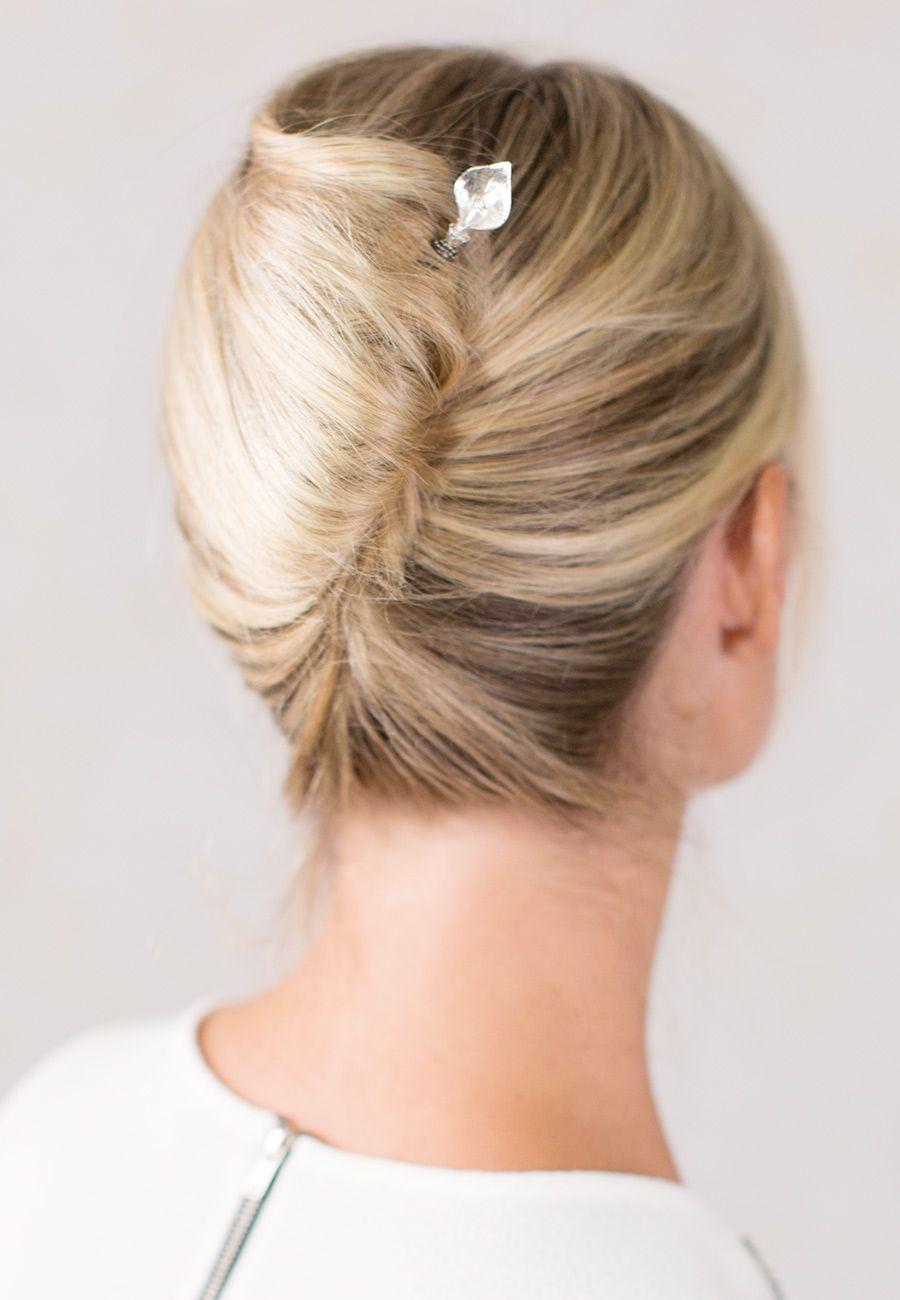 Gorgeous Calla Lilly Hair Stick French Twist Hair Medium Hair Styles Easy Formal Hairstyles