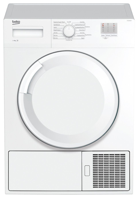 Beko Dtgc8000w 8kg Condenser Tumble Dryer White In 2020 Tumble