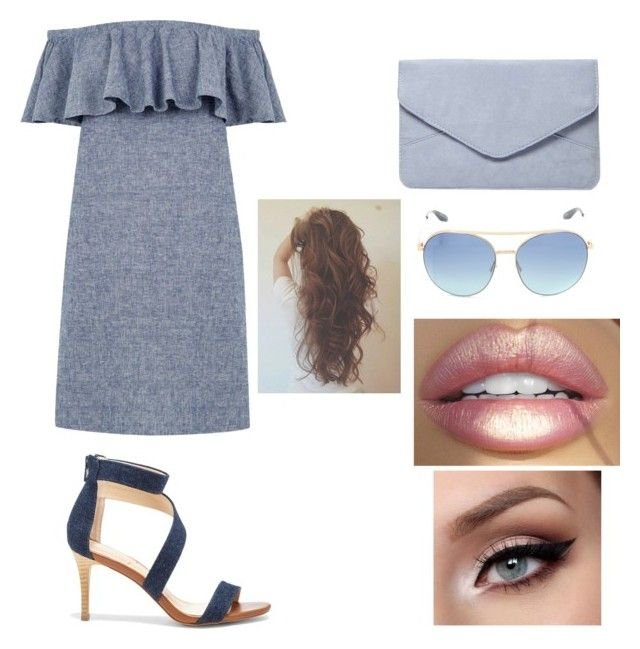 """""""Day out 66"""" by soso-red ❤ liked on Polyvore featuring Warehouse, Dorothy Perkins, Barton Perreira and Sole Society"""