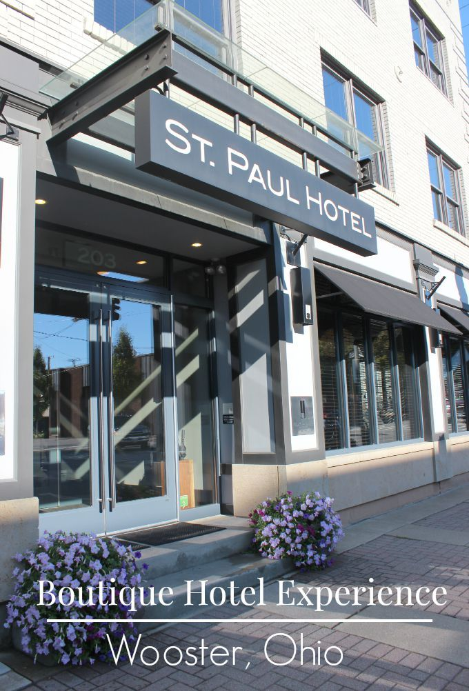 The St Paul Hotel In Wooster Ohio Provides A Unique Boutique Experience