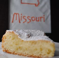 Sweet State of Mine: Missouri - Gooey Butter Cake (Old St. Louis Bakery... (made from scratch)