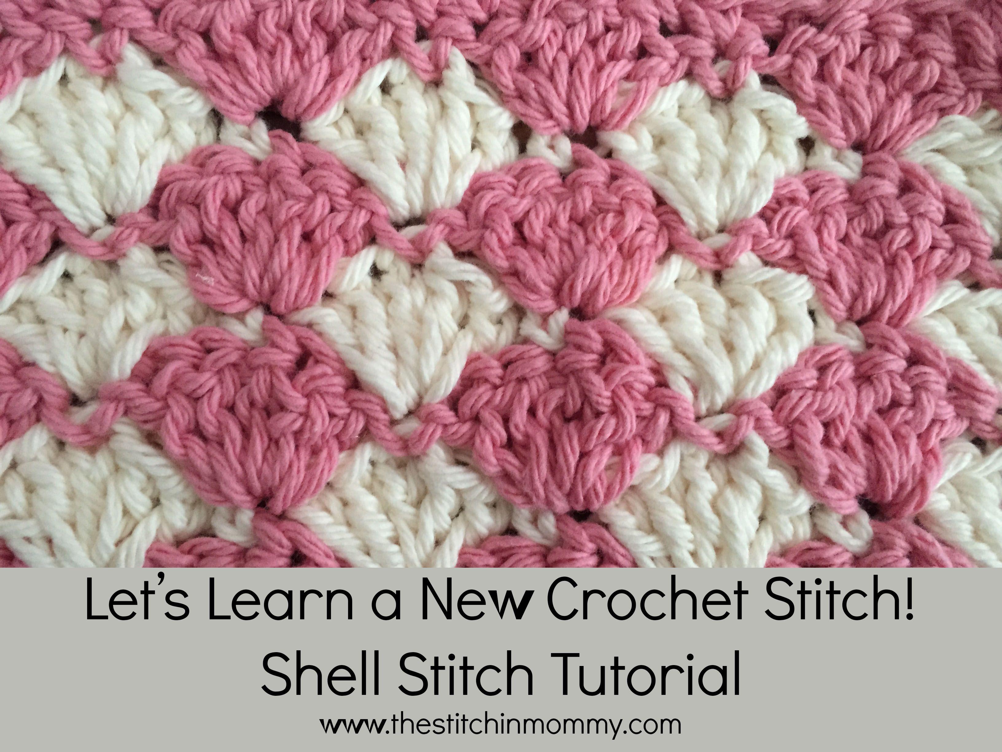 Shell Stitch Tutorial | Häkeln anleitung, Handarbeiten und Anleitungen
