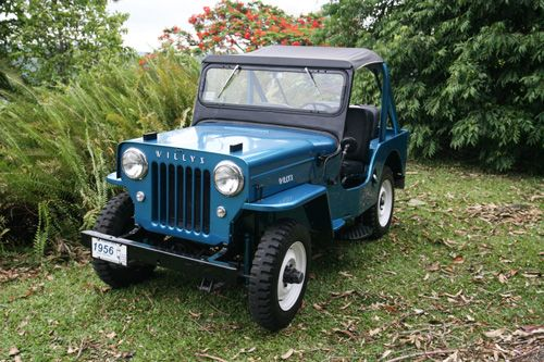 Raul Gonzalez Willys Jeep Jeep Garage Vintage Jeep