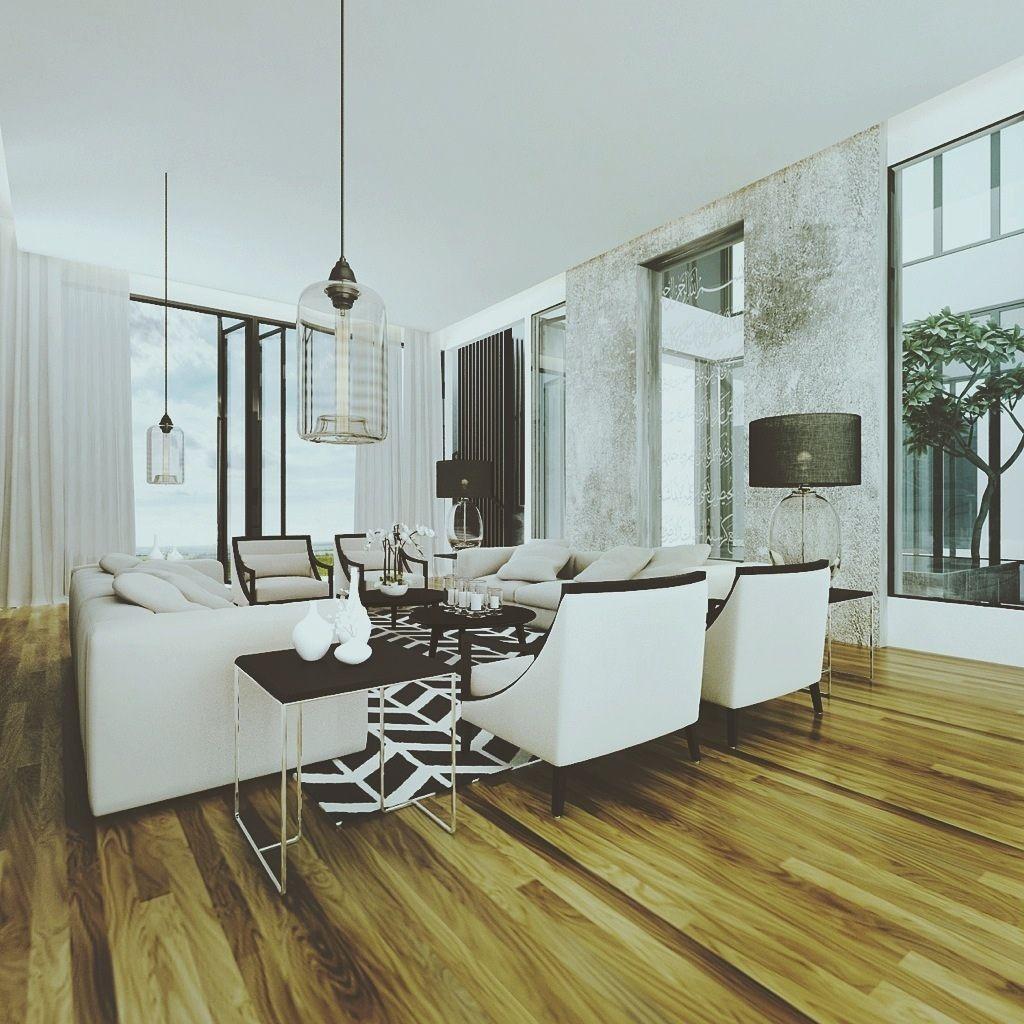 Ehrfürchtig stilvolle städtische WohnzimmerRäume Luxury