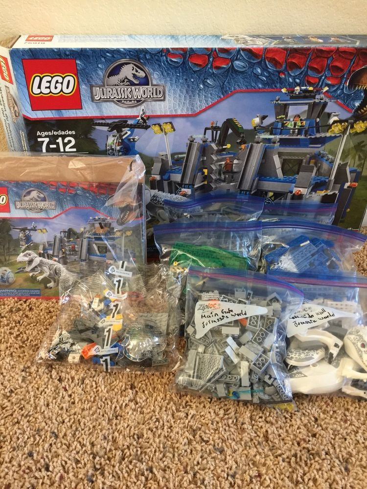 LEGO Dinosaurs Indominus rex Breakout (75919) (With images