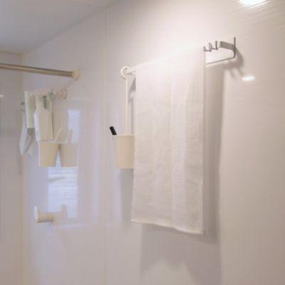 浴室 マグネット 吊り下げ収納 サビない強力磁石で 耐荷重も