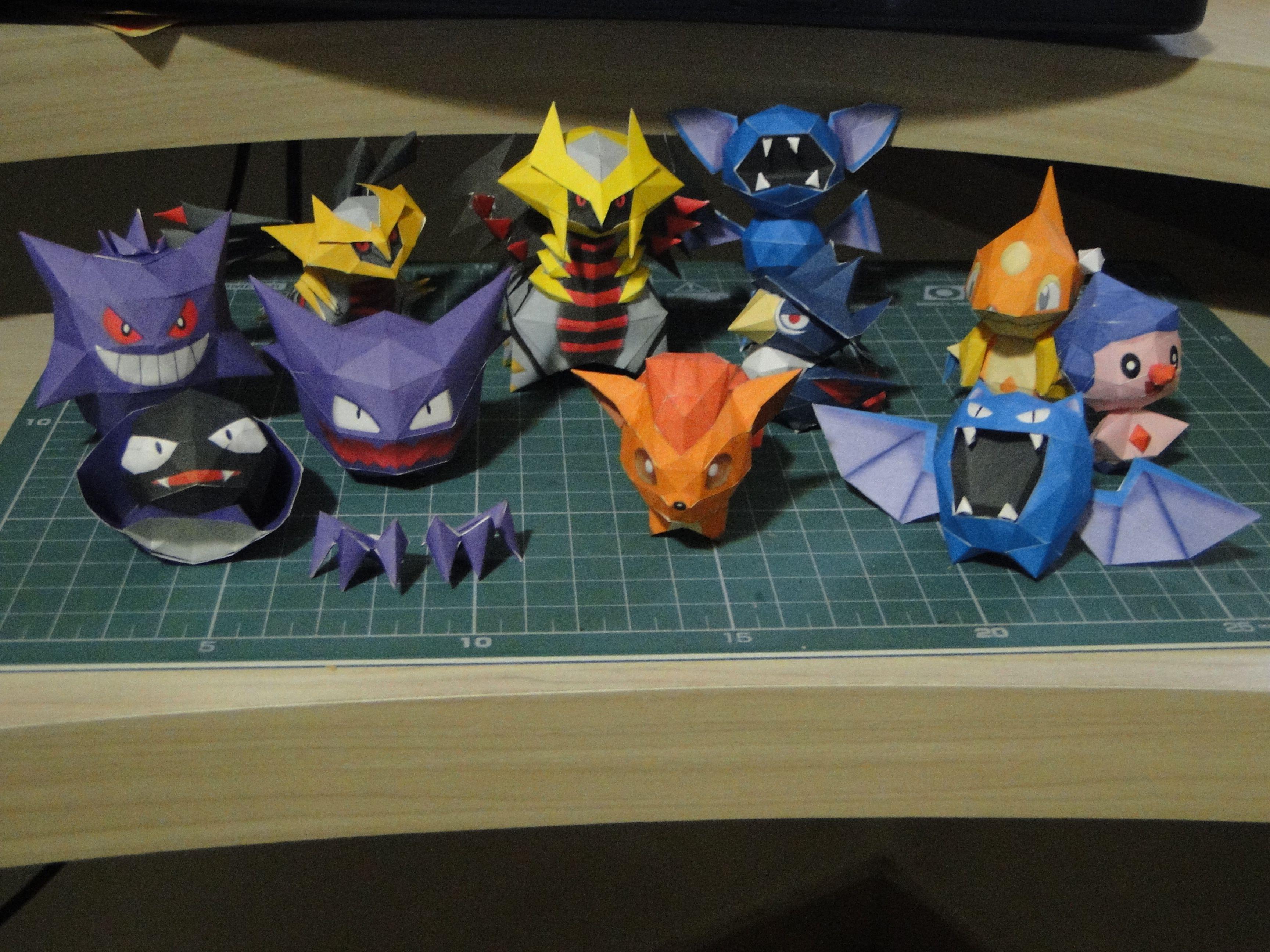Chibi Paper Pokemons I