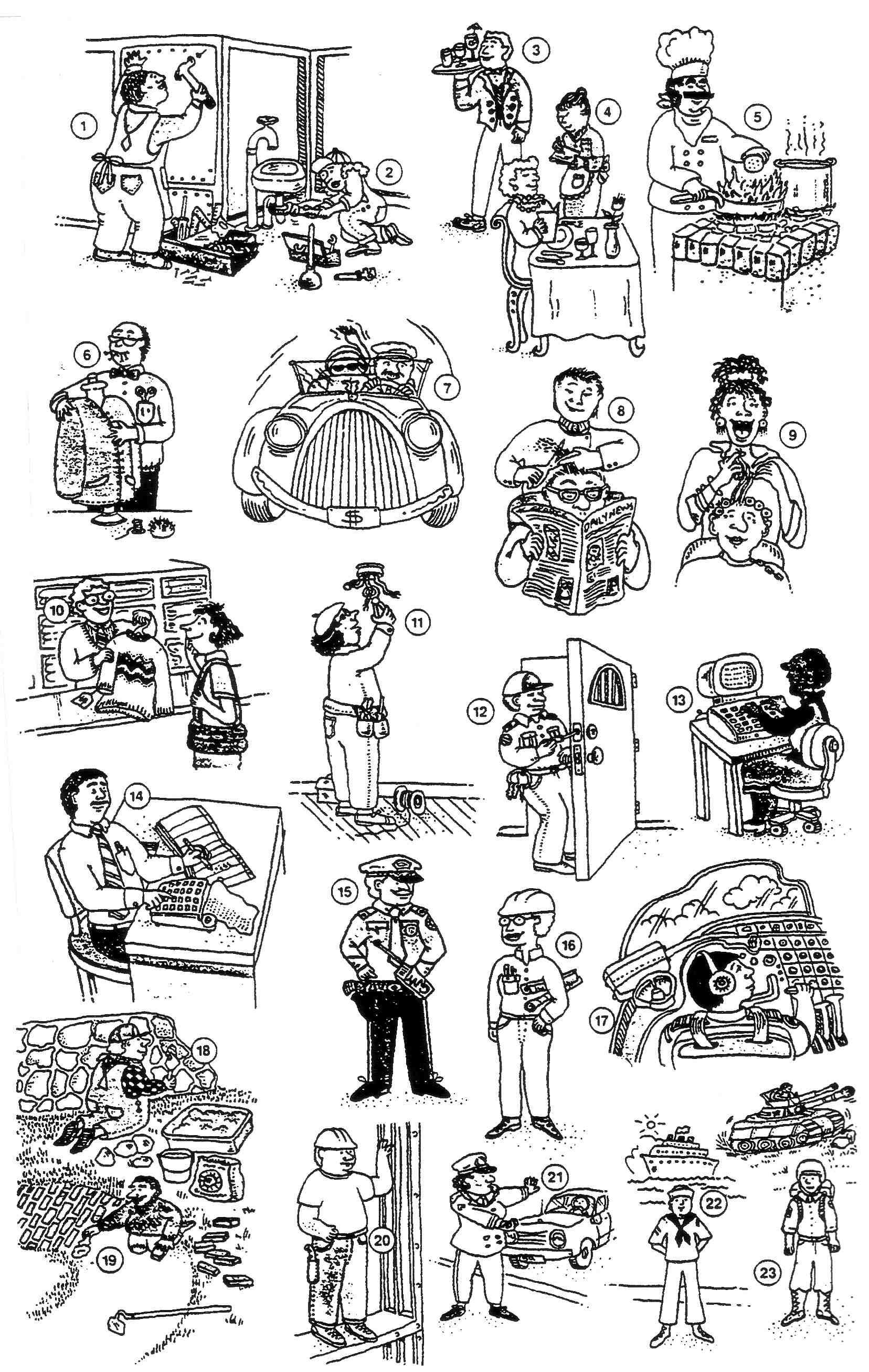 Jobs Activities Places Good For Descriptive I Spy Games Or Paperless Bingo Each Student