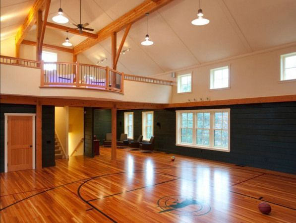 Photo of In-home Basketball Court Man Cave #recreationalroom #recreational #room #man #ca…,  #basket…