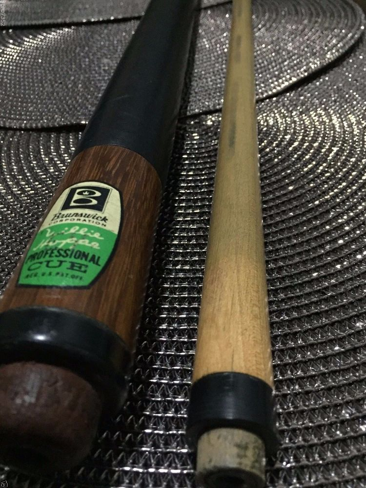 Vintage Brunswick Willie Hoppe Professional Pool Cue 1950 ERA