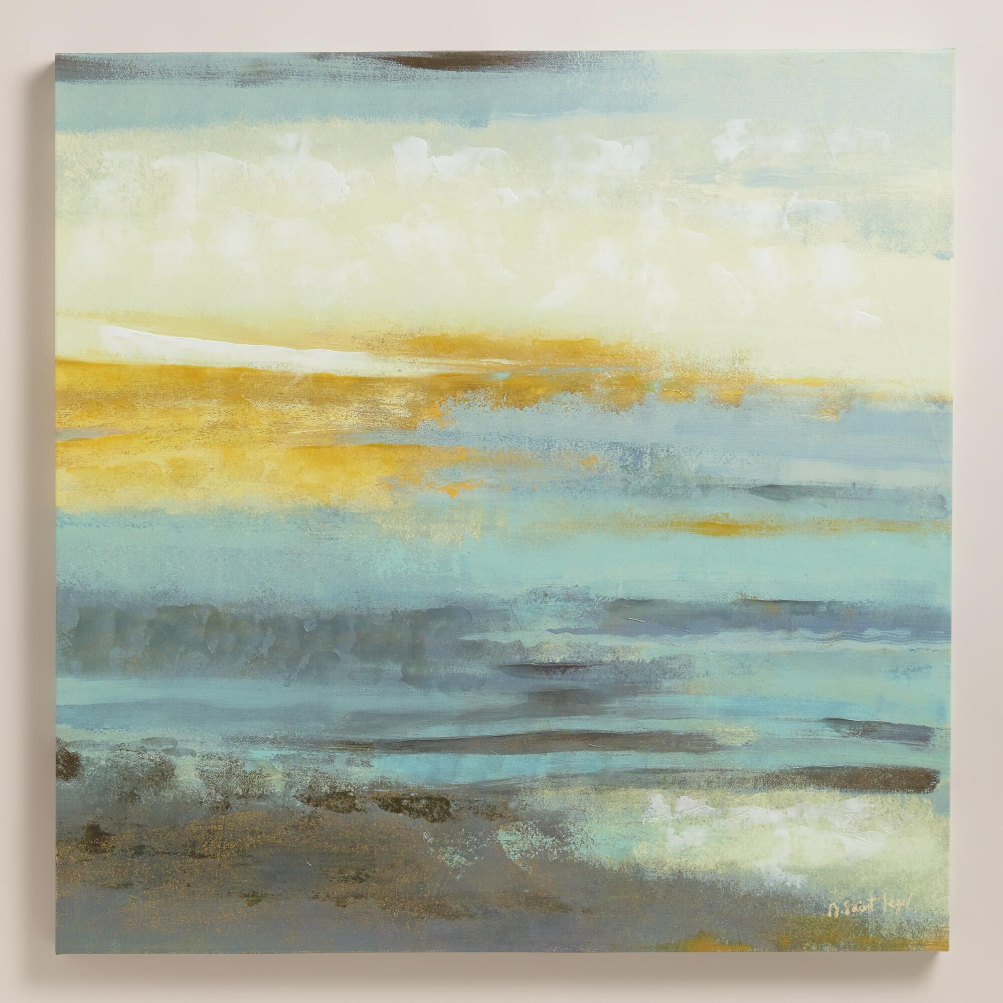 Abstract Sky By Antoinette Saint Leger Dining Room Wall ArtWall