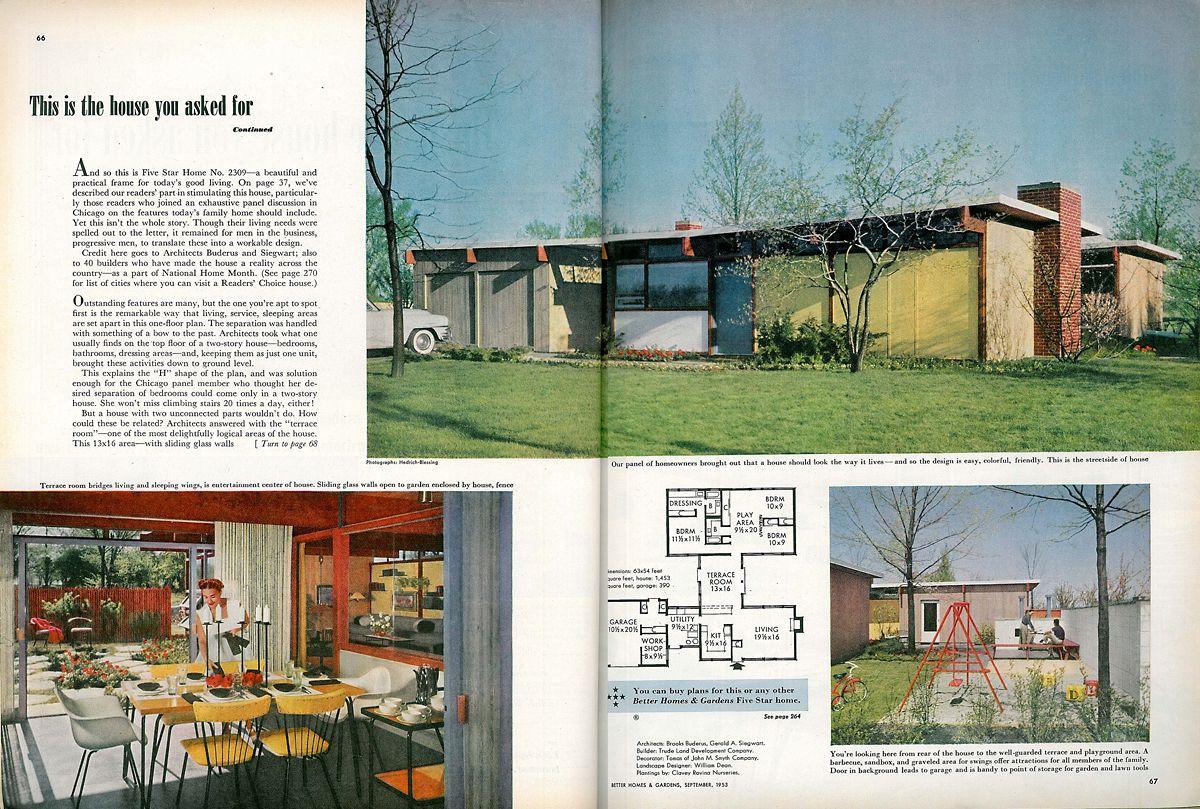 Http Www Beltstl Com Wp Content Uploads 2011 03 03 Better Homes And Gardens Sept 1953 Better Homes Gardens Better Homes And Gardens Better Homes And Garden
