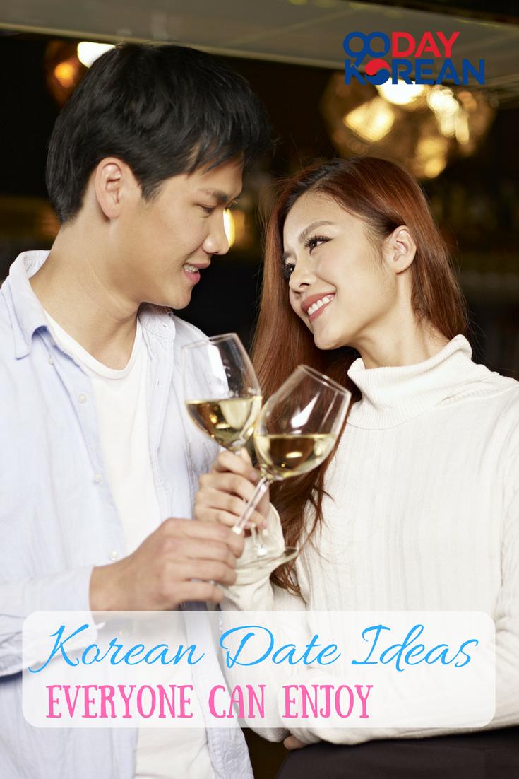 Dating in Korea zwart