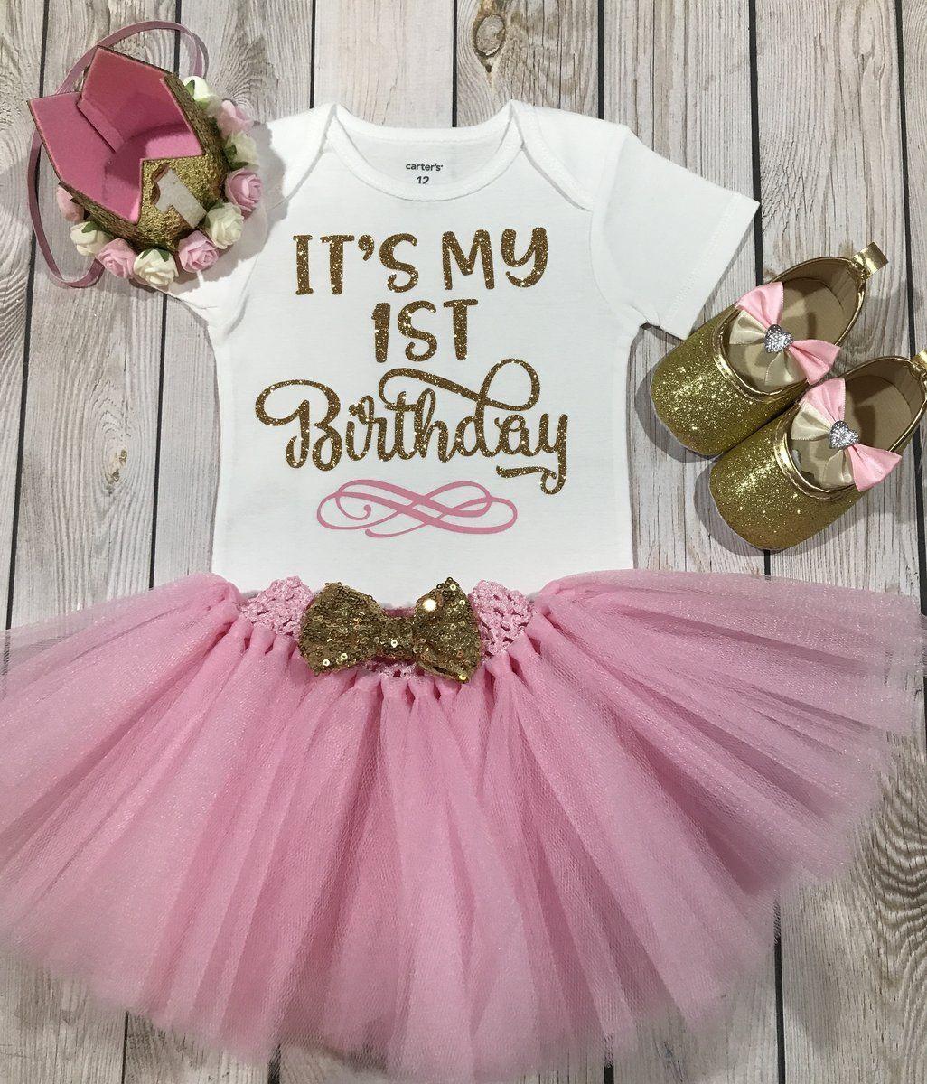 1 Geburtstag Outfit Madchen Es Ist Mein Erster Geburtstag