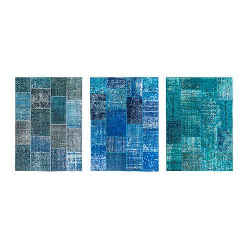 tapis ikea bleu enredada